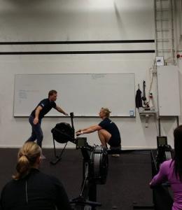 Vi lär ut på CrossFit!