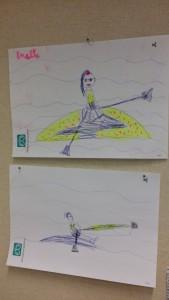 Underbara bilder från min kollegas barn!