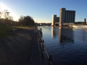 Öppet vatten i Norrtälje hamn!
