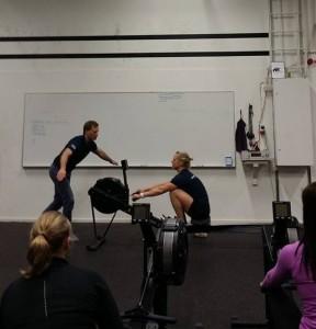 Bild från förra årets instruktion på CrossFit