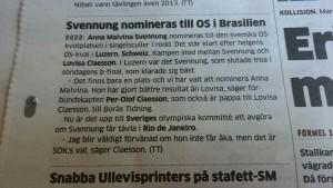 Från Göteborgs Posten